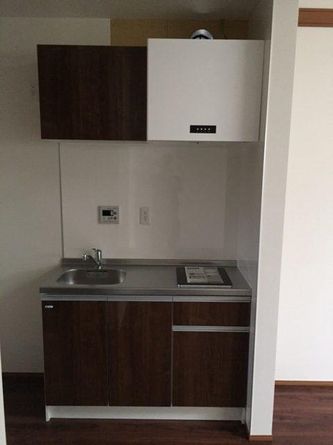 095 新築戸建て コンパクトキッチン納入事例